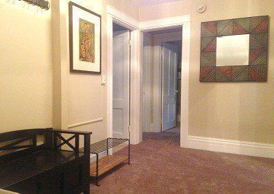 hallway at Rutgers House loft